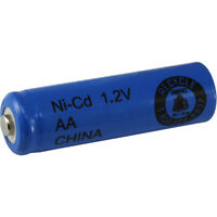 16 AA NiCd 700 mAh 1.2 V Rechargeable Batteries for Solar Lights, etc