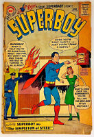 Superboy #105 (GD+ 2.5) 1963 Silver Age DC Comics Collectible Copy