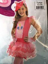 My LIttle Pony Pinkie Pie Child's Costume Medium (8-10) - NWT