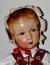 New ListingVintage Composition Doll Louis Amberg? Cute Face Mibs? Sweet Outfit!
