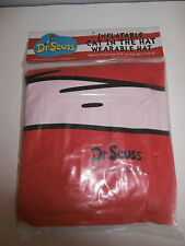 "Inflatable Cat In the Hat Wearable Hat Dr. Seuss  Approx. Inflated Size 19"" H"