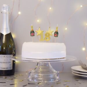 PREMIUM 3D 18th Milestone Cake Candles, Birthday Cake, Cake Topper