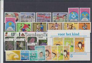 Niederl. Antillen Bessere Marken aus Jahrgang 1985 Postfrisch