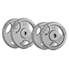 Pesi Dischi Sport E Viaggi Palestra Fitness Manubri Bilancieri Ghisa 2X5+2X10Kg