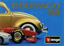 Prospekt Bburago Modellautos 1998 80 S. Broschüre Katalog  brochure model cars