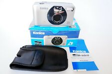 KONICA S MINI APS CAMERA. UNTESTED IN BOX WITH PAPERS CASE, NECK STRAP