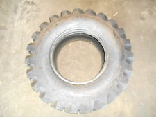 Front backhoe tire