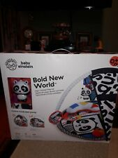Baby Einstein Bold New World Baby Infant High Contrast Playmat. New.