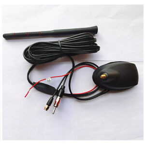DC 12V FM/AM Radio Amplifier Antenna GPS Navigation System For Car Roof Mounting