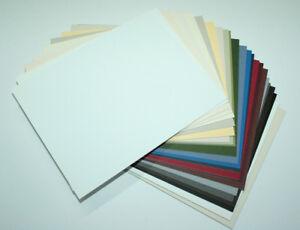 6 Passepartoutkarton 50x70cm säurefrei / 1,4mm / 35 Farben  Karton  Passepartout
