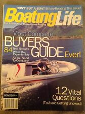 Boating Life Magazine Issue 2001 January February Bayliner Capri 215 Sport Guide