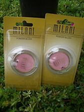 2 Milani Powder Long-Lasting Blush, Pink *Goes On Smoothly*