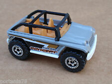 2013 Matchbox JEEP WILLYS CONCEPT 117/120 MBX Explorers LOOSE Grey