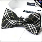 MENS BOW TIE Bowtie Pre-tied wedding formal bowtie tuxedo pattern CHOOSE DESIGN