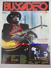 rivista BUSCADERO 177/1997 John Lee Hooker Morrison Pavement Byrds Spirit  No cd