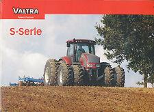 Valtra S Serie Trecker Prospekt 2/03 Traktor tractor brochure Broschüre 2003