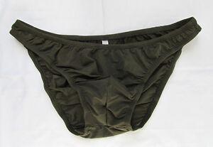 K1571B Mens Underwear Bikinis Soft Smooth Silky Tricot Knit variations