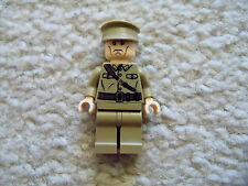 LEGO Indiana Jones Minifig - Rare Colonel Dovchenko - 7626 7628