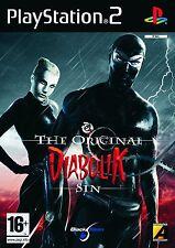 DIABOLIK  THE ORIGINAL SIN           -----   pour PS2