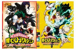 DVD ANIME Boku no Hero Academia Sea 1-4 Vol.1-88 End +Movie English Dubbed +3OVA