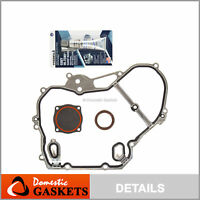 Fits Chevrolet Saturn Pontiac Oldsmobile 2.2 Saab 2.0 DOHC Timing Cover Gaskets