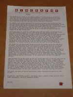 Gillan 1981 Virgin Records Press Release