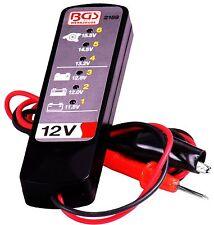 TESTER batteria auto 12 Volt Batteria revisore Tester Luce macchine revisore test