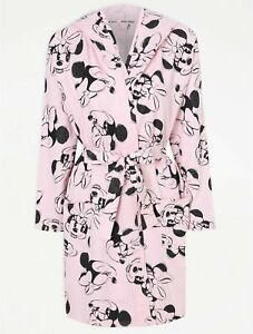 Disney Minnie Mouse Pink Wrap Dressing Gown