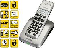 Audioline Wave 100 analog DECT schnurloses STRAHLUNGSARM Telefon ECO