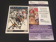 Ray Bourque Bruins 1992-93 Score Franchise Hockey Card Signed Auto JSA COA
