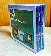 FRANCO BATTIATO COFANETTO X3 BOX CD Sigillato