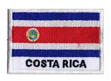 Écusson patche patch drapeau pays COSTA RICA 70 x 45 mm Pays Monde à coudre