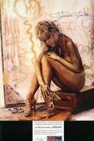 Farrah Fawcett Psa Dna Coa Hand Signed 8x10 Photo Autograph