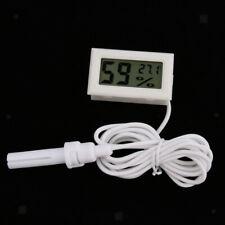 Reptile Terrarium Thermometer Hygrometer,for Pet Rearing Box