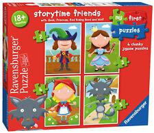 STORYTIME amici il mio primo PUZZLE 2, 3, 4 e 5 PEZZI JIGSAW PUZZLE RAVENSBURGER