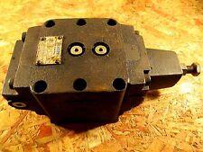 VICKERS RG 10 B3 30 HYDRAULIC CONTROL VALVE 125 - 500 PSI RG10B330 EATON NOS