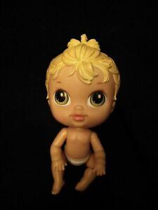 "Hasbro Crib Life Born Awesome Ella 7"" Doll Criblife Baby Alive 2010"