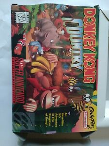 Donkey Kong  Country (SNES, 1994) Game Box Only