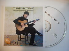 THOMAS DUTRONC : COMME UN MANOUCHE SANS GUITARE [ CD SINGLE PORT GRATUIT ]