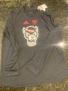NC State Wolfpack adidas Long Sleeve Tee Shirt / Men's XXL