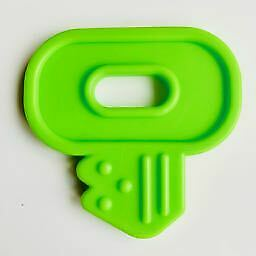 Key Teether - Ribbon Attached Teether EN71 -3 Compliant