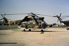 3/565 Aérospatiale SA 330 Puma Portuguese Air Force 9503 Kodachrome SLIDE