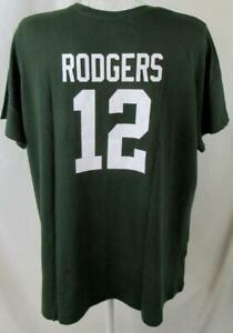Green Bay Packers Women Plus Size XL 3X or 4X Aaron Rodgers #12 T-shirt APAC 430