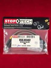 STOPTECH STAINLESS STEEL REAR BRAKE LINE 06-15 MAZDA MIATA MX-5 NC 950.45502