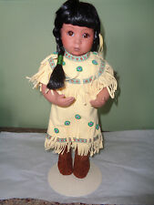 1993 Danbury Mint - Gentle Shepherd - Native American Doll