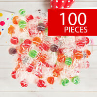 Saf-T-Pops® Lollipops - Candy - Suckers - 100 Pieces