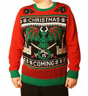 Ugly Christmas Sweater Men's Big&Tall Game Of Thrones LED Light Up Sweatshirt