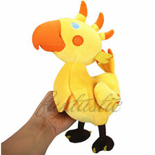 "Final Fantasy XIII Wonderful Gold Chocobo 9"" Plush Stuffed doll Perfect X'mas GF"