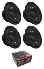 "4 x 6.5"" Midrange 4 Ohm 1200W Midbass Pro Speaker Genius Audio GPRO-M1065"