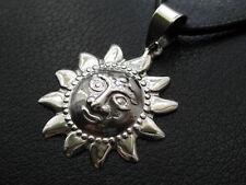 Sonne 925'er Silber Ketten Anhänger / KA 772